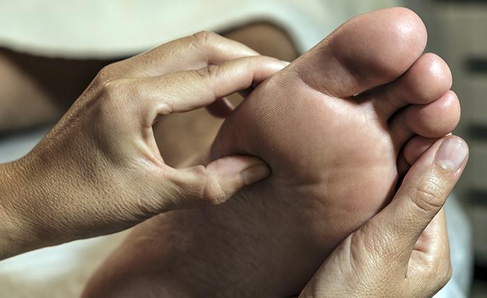 riflessologia o massaggio standard